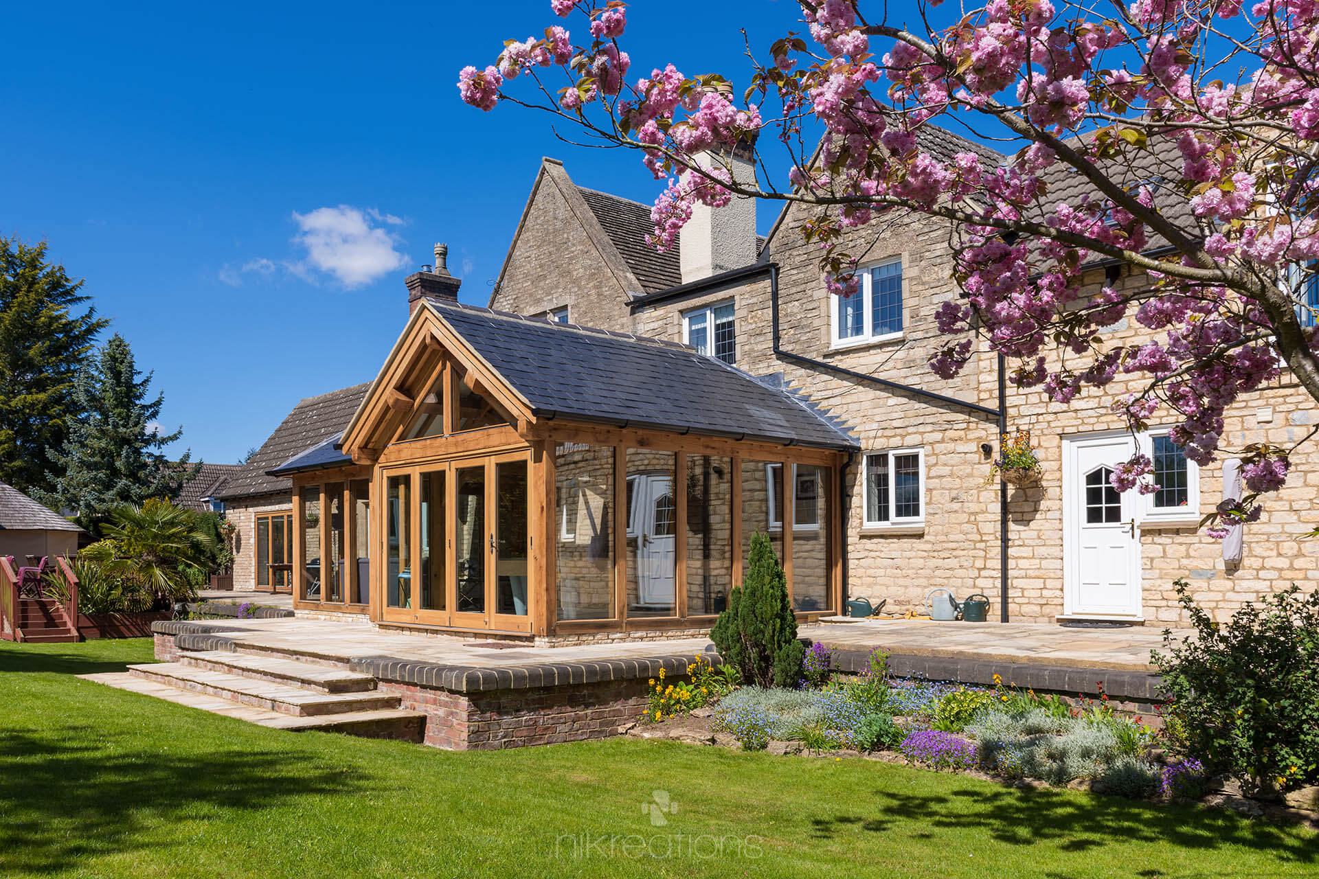 Orangery-Extension, Northamptonshire