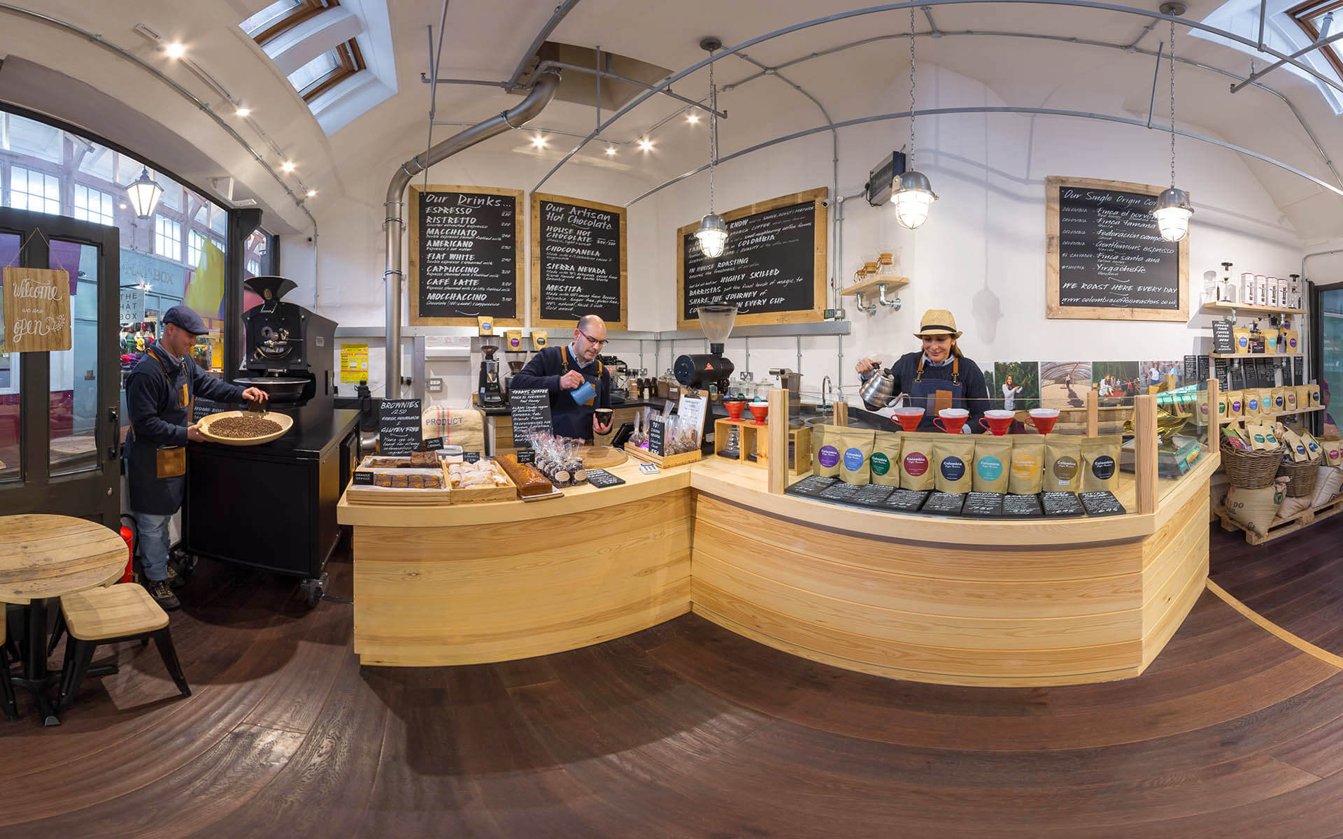 Colombia Coffee Roasters Google Maps 360