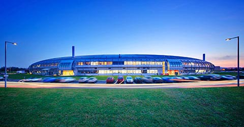 Diamond Synchrotron, RAL, Oxfordshire