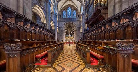 Bespoke Virtual Tour of Hereford Cathedral