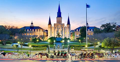 St. Louis Cathedral, New Orleans, USA
