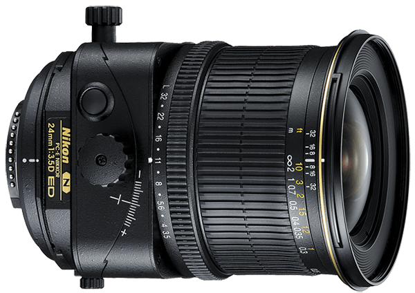Nikon 24mm Perspective Correction Lens