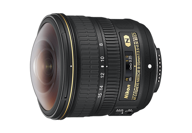 Nikon 8-15mm Fisheye Lens