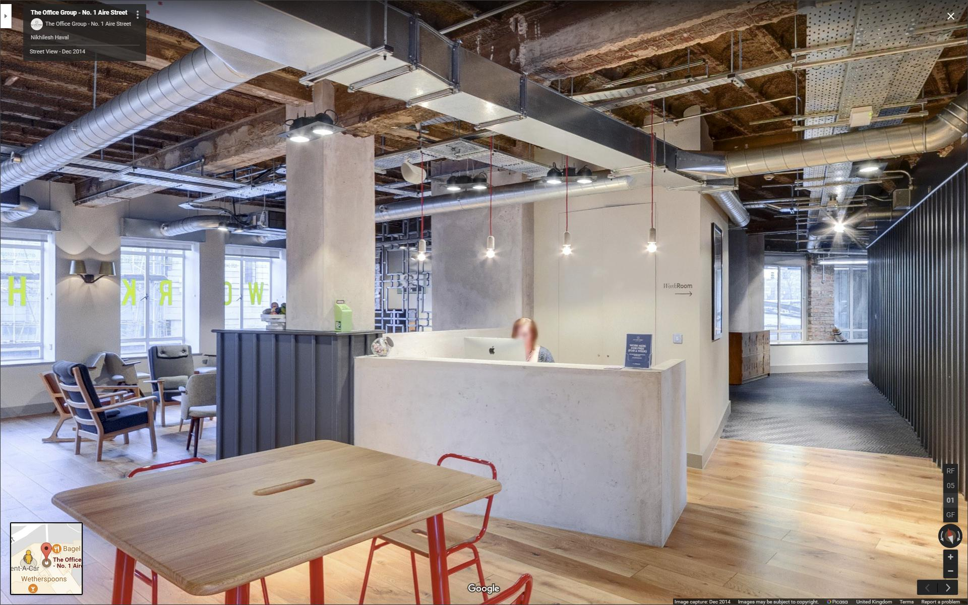 Design Led Serviced Office Google Street View