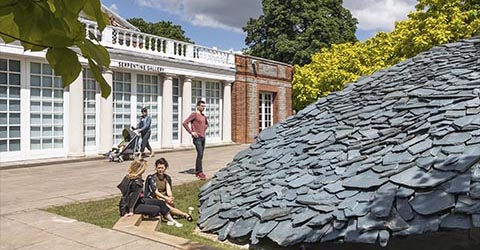 Serpentine Galleries pavilion 2019 by Junya Ishigami