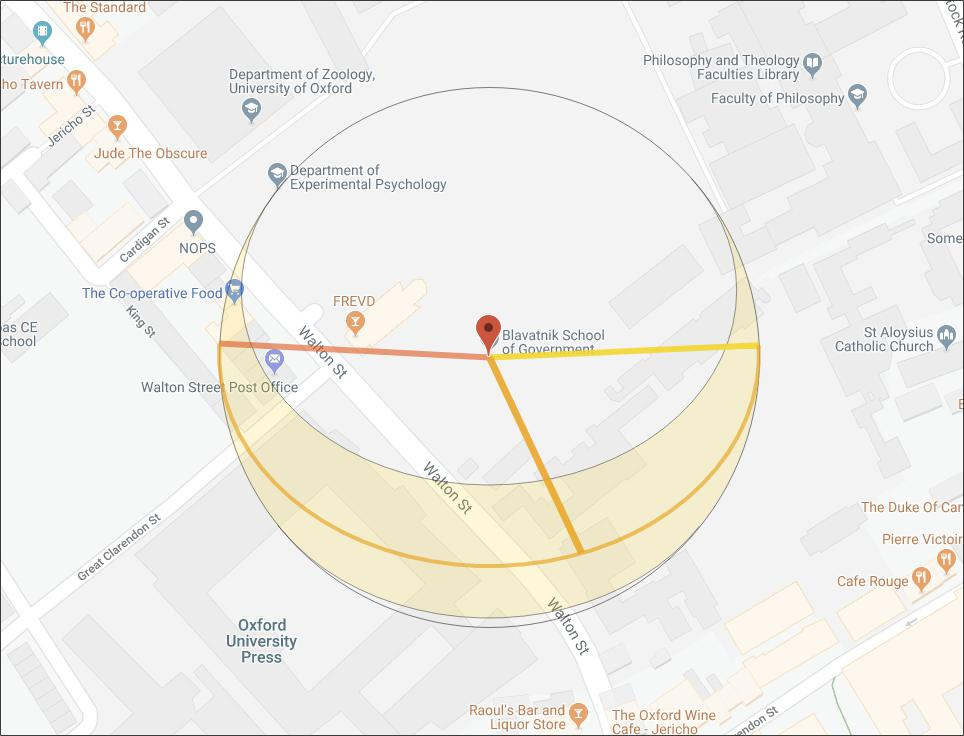Sun path calculation for location