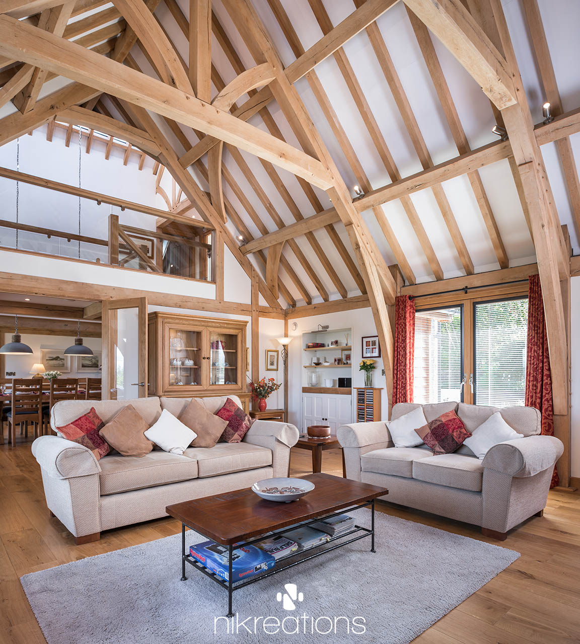 An Oak Frame Home Built For Under 200k: Our Portfolio Of Selected Works